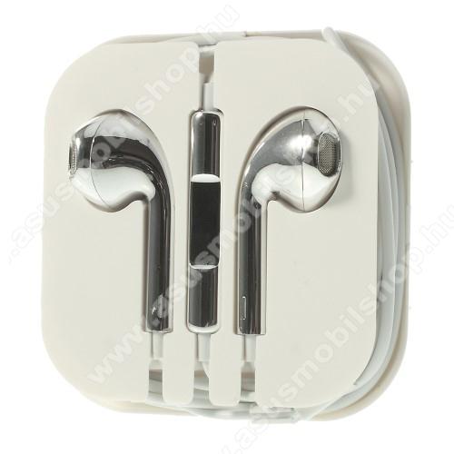 ASUS Zenfone 3 Deluxe (ZS570KL)Univerzális sztereo headset - 3,5mm jack csatlakozó, felvevő gombos - EZÜST
