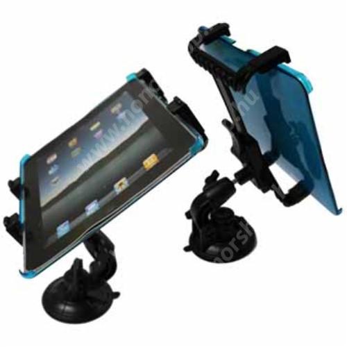 """HUAWEI Honor Waterplay 8 UNIVERZÁLIS TABLET PC gépkocsi / autó tartó - tapadókorongos / szélvédőre hyelezhető, 360°-ban elforgatható, 145mm / 105mm - 195mm-ig állítható, 7-12""""-os készülékekig használható"""