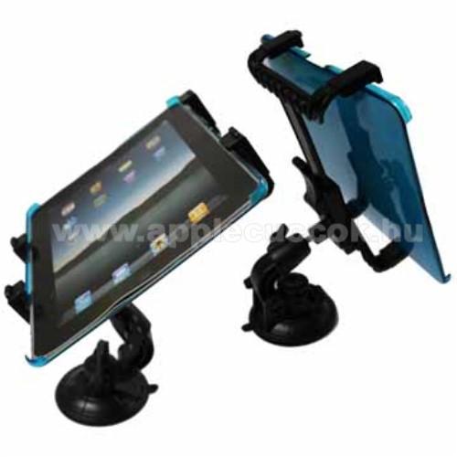APPLE iPad Pro 9.7 (2016)UNIVERZÁLIS TABLET PC gépkocsi / autó tartó - tapadókorongos / szélvédőre hyelezhető, 360°-ban elforgatható, 145mm / 105mm - 195mm-ig állítható, 7-12