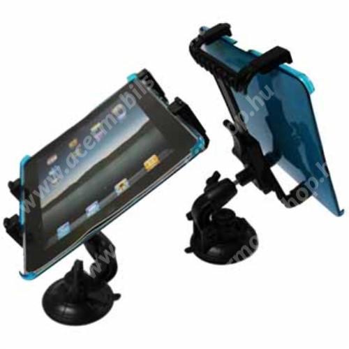 """ACER Iconia Tab A200 UNIVERZÁLIS TABLET PC gépkocsi / autó tartó - tapadókorongos / szélvédőre hyelezhető, 360°-ban elforgatható, 145mm / 105mm - 195mm-ig állítható, 7-12""""-os készülékekig használható"""