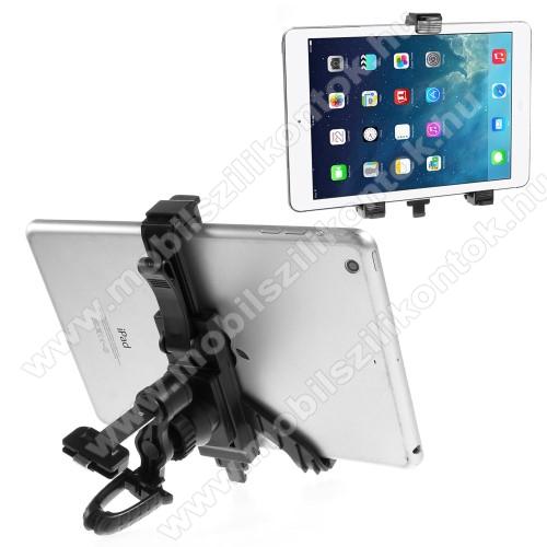 UNIVERZÁLIS TABLET PC gépkocsi / autós tartó - szellőzőrácsra rögzíthető, 360°-ban elforgatható, 215mm-ig állítható max!, 7-12