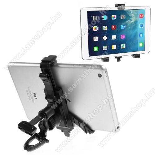 SAMSUNG Galaxy Tab A 8.0 (2017) (SM-T380)UNIVERZÁLIS TABLET PC gépkocsi / autós tartó - szellőzőrácsra rögzíthető, 360°-ban elforgatható, 215mm-ig állítható max!, 7-12