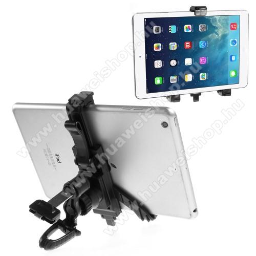 HUAWEI MediaPad T1 7.0 PlusUNIVERZÁLIS TABLET PC gépkocsi / autós tartó - szellőzőrácsra rögzíthető, 360°-ban elforgatható, 215mm-ig állítható max!, 7-12