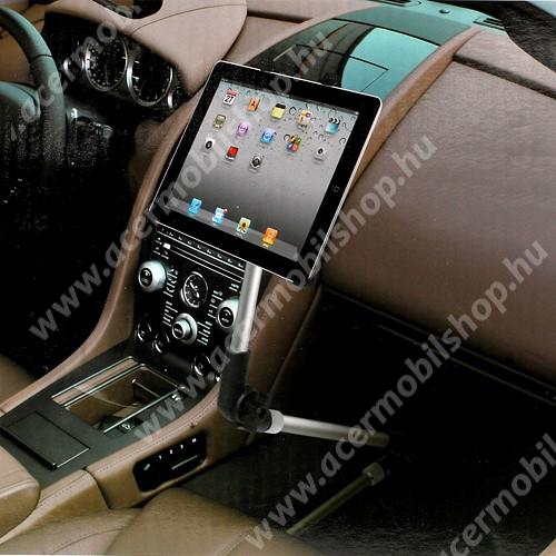 """ACER Iconia Tab A200 UNIVERZÁLIS tablet PC gépkocsi / autós tartó - 105-200mm-ig állítható bölcső, üléssínhez vagy falra is rögzíthető, 7-10.1""""-os készülékekhez"""