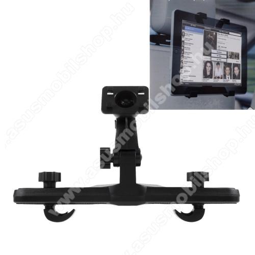 ASUS Memo Pad 7 ME572CUNIVERZÁLIS tablet PC gépkocsi / autós tartó - 360°-ban elforgatható, fejtámlára szerelhető tartóval, 4.7-11