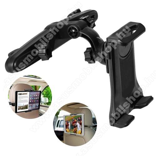 ASUS Memo Pad 7 ME572CUNIVERZÁLIS tablet PC / telefon gépkocsi / autós tartó - 360°-ban elforgatható, fejtámlára szerelhető tartóval, 150-250mm-ig nyíló bölcső, 3.5-12