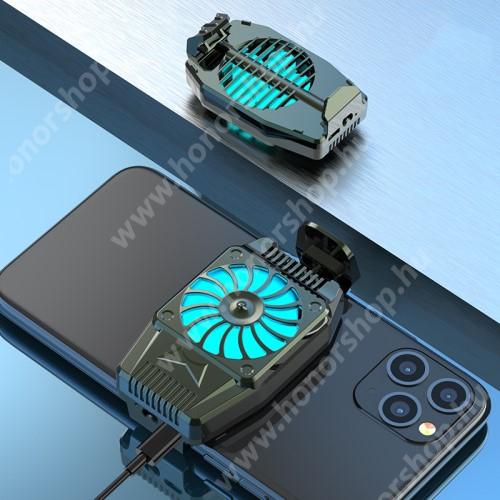 HUAWEI Honor 3 UNIVERZÁLIS telefonhűtő - 45 x 76 x 16mm - FEKETE
