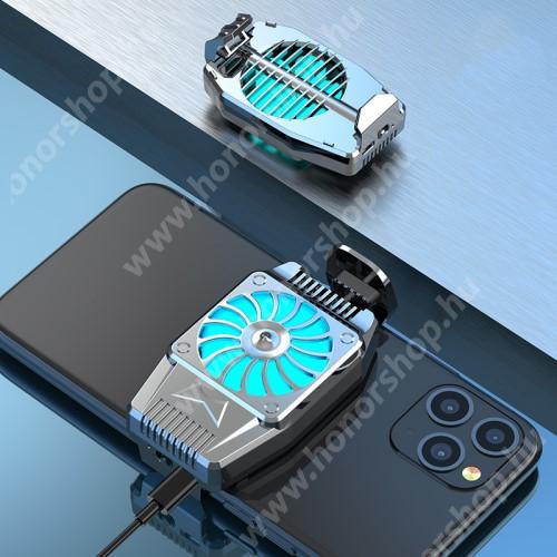 HUAWEI Honor 3 UNIVERZÁLIS telefonhűtő - 45 x 76 x 16mm - EZÜST