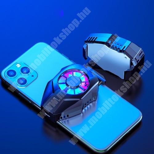 Blackphone UNIVERZÁLIS telefonhűtő - Type-C port, 36 x 72 x 19 mm - FEKETE