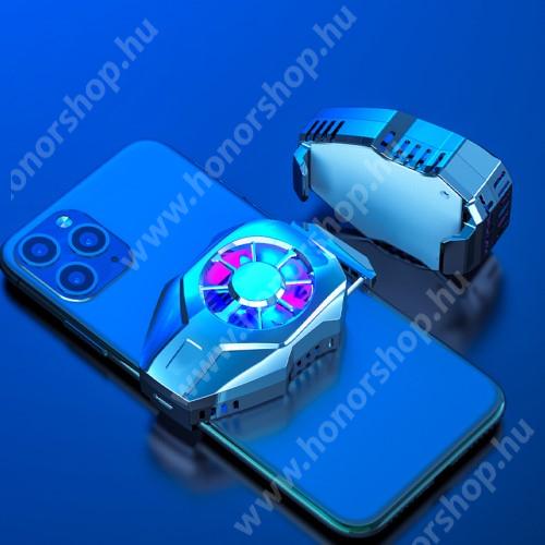 HUAWEI Honor 3 UNIVERZÁLIS telefonhűtő - Type-C port, 36 x 72 x 19 mm - EZÜST