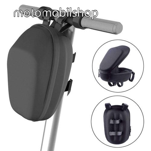 UNIVERZÁLIS tok, táska - Xiaomi Mijia / Ninebot rollerle szerelhető, vízálló, ütődésálló, cipzár  - 300 x 145 x 165mm - FEKETE