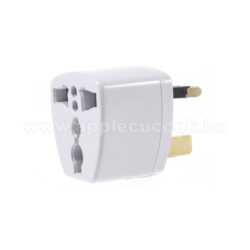 US UK EU AU 4 in 1 utaz� t�lt? / h�l�zati t�lt? adapter - max 250V, 13A - FEH�R