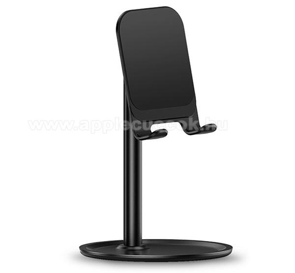 APPLE iPhone 6USAMS US-ZJ048 UNIVERZ�LIS alum�nium asztali tart� / �llv�ny - �ll�that�, hordozhat�, tablethez is haszn�lhat� - FEKETE - ZJ048_B - GY�RI