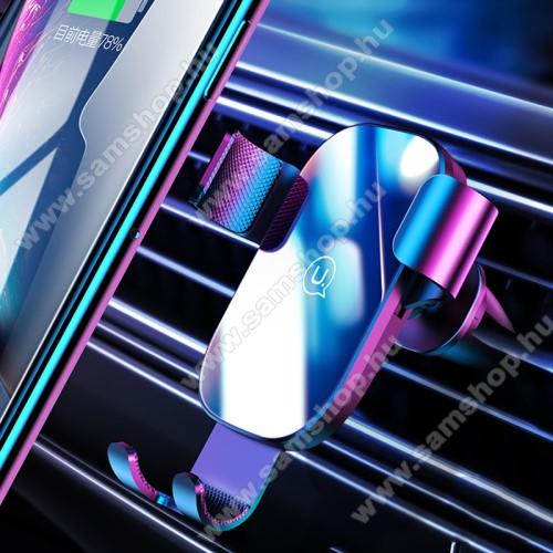 SAMSUNG GT-S5200USAMS US-ZJ052 gravity univerzális autós / gépkocsi tartó - FEKETE - szellőzőrácsra rögzíthető, kör alakú szellőzőráccsal is kompatibilis!, 4,5-6,5