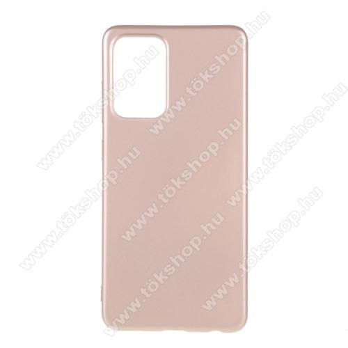 X-LEVEL Guardian Series szilikon védő tok / hátlap - MATT - ROSE GOLD - SAMSUNG Galaxy A52 5G (SM-A526F) / Galaxy A52 4G (SM-A525F) - GYÁRI