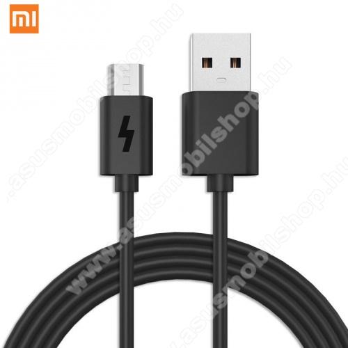 ASUS Memo Pad 7 ME572CXIAOMI adatátviteli kábel / töltő kábel (microUSB, 80 cm hosszú) FEKETE - GYÁRI