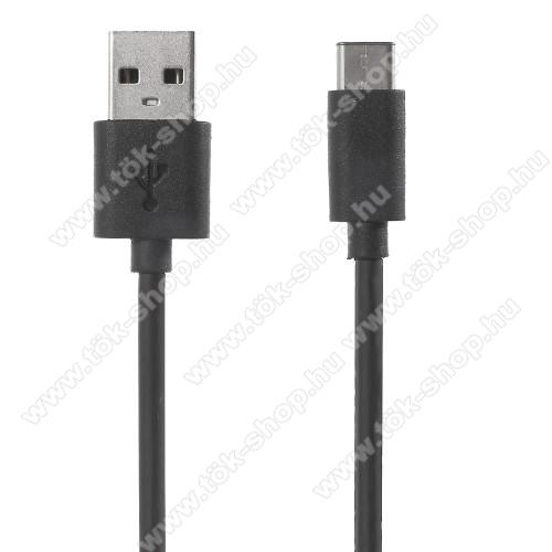 XIAOMI adatátviteli kábel / USB töltő - USB 3.1 Type C - FEKETE - 120cm - GYÁRI