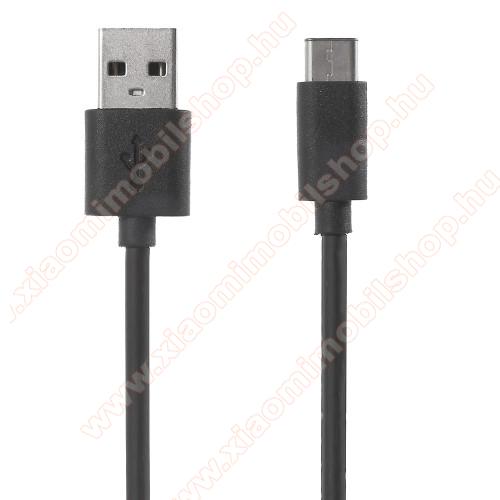 Xiaomi Poco F2 ProXIAOMI adatátviteli kábel / USB töltő - USB 3.1 Type C - FEKETE - 120cm - GYÁRI