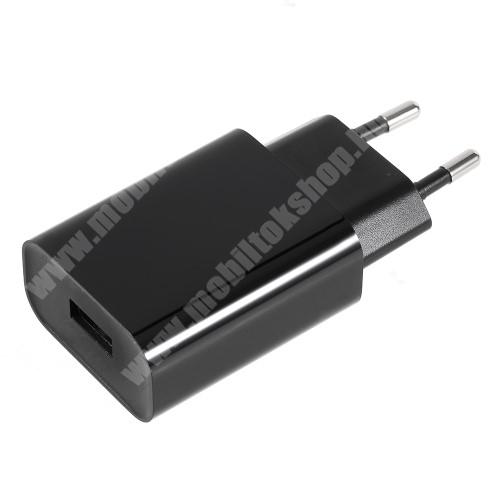 APPLE iPhone X XIAOMI hálózati töltő - 1 x USB aljzat, 12V / 1.5A, 9V / 2A, 5V / 2.5A, Quick Charge 3.0 - FEKETE - MDY-08-DF - GYÁRI