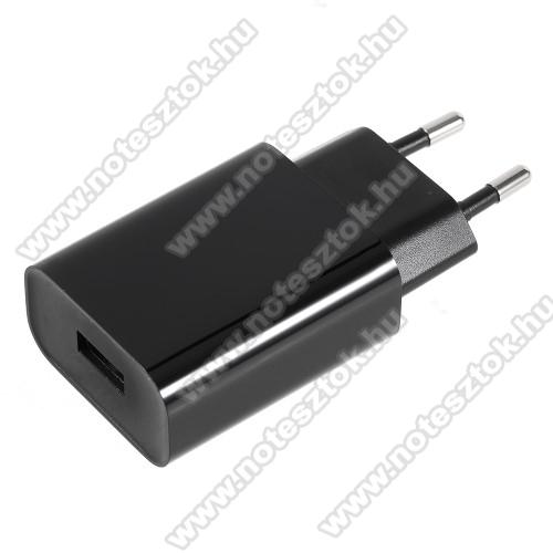 NOKIA 7.1XIAOMI hálózati töltő - 1 x USB aljzat, 12V / 1.5A, 9V / 2A, 5V / 2.5A, Quick Charge 3.0 - FEKETE - MDY-08-DF - GYÁRI