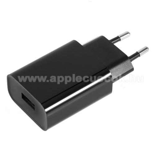APPLE iPhone 7 PlusXIAOMI hálózati töltő - 1 x USB aljzat, 12V / 1.5A, 9V / 2A, 5V / 2.5A, Quick Charge 3.0 - FEKETE - MDY-08-DF - GYÁRI