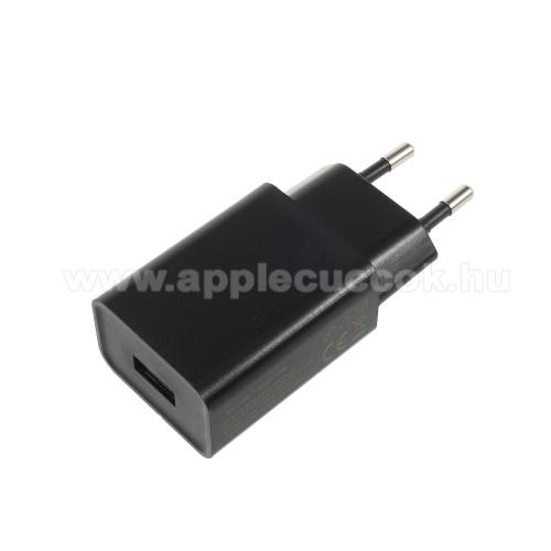 APPLE iPhone XXIAOMI hálózati töltő - 1 x USB aljzat, 5V / 2A - FEKETE - CYSK10-050200-E - GYÁRI