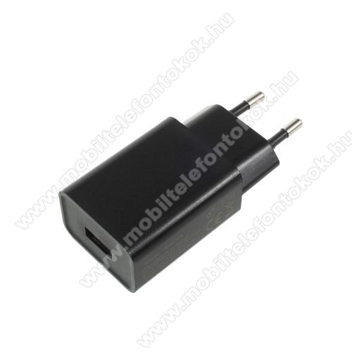HUAWEI P Smart+XIAOMI hálózati töltő - 1 x USB aljzat, 5V / 2A - FEKETE - CYSK10-050200-E - GYÁRI