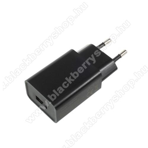 BLACKBERRY Z10XIAOMI hálózati töltő - 1 x USB aljzat, 5V / 2A - FEKETE - CYSK10-050200-E - GYÁRI