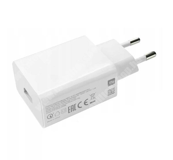 PRESTIGIO MultiPad 8.0 PRO DUO XIAOMI hálózati töltő USB aljzat - 5V / 3A (15W), 9V / 2.23A (20W), 12V / 1.67A (20W), 10V / 2.25A (22.5W), gyorstöltés támogatás - FEHÉR - MDY-11-EP - GYÁRI