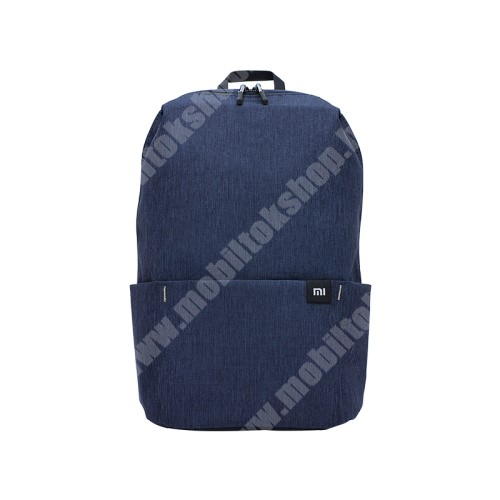 PHILIPS W3568 XIAOMI hátizsák - ultrakönnyű, kopásálló poliészter anyag, vízálló, 10L kapacitás - SÖTÉTKÉK - 340  x 225 x 130mm