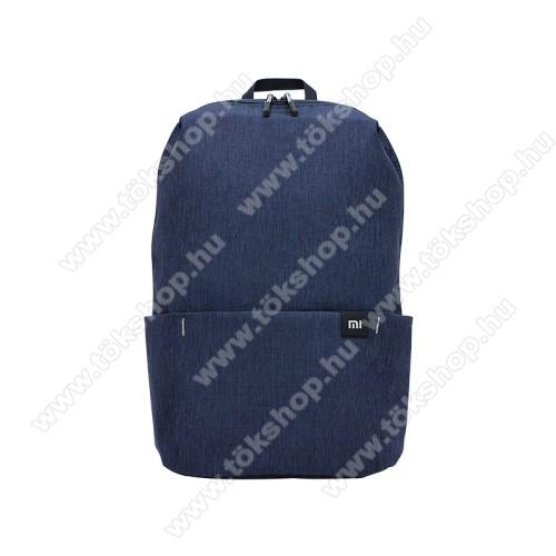 SONYERICSSON R310XIAOMI hátizsák - ultrakönnyű, kopásálló poliészter anyag, vízálló, 10L kapacitás - SÖTÉTKÉK - 340  x 225 x 130mm