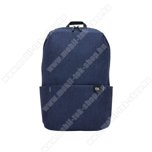 XIAOMI hátizsák - ultrakönnyű, kopásálló poliészter anyag, vízálló, 10L kapacitás - SÖTÉTKÉK - 340  x 225 x 130mm