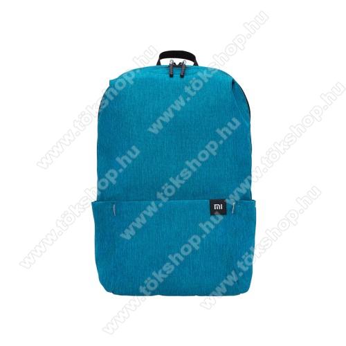 SONYERICSSON R310XIAOMI hátizsák - ultrakönnyű, kopásálló poliészter anyag, vízálló, 10L kapacitás - VILÁGOSKÉK - 340  x 225 x 130mm