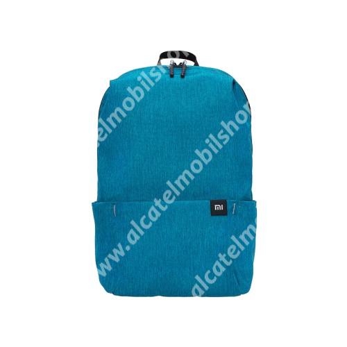 ALCATEL OTE 301 XIAOMI hátizsák - ultrakönnyű, kopásálló poliészter anyag, vízálló, 10L kapacitás - VILÁGOSKÉK - 340  x 225 x 130mm