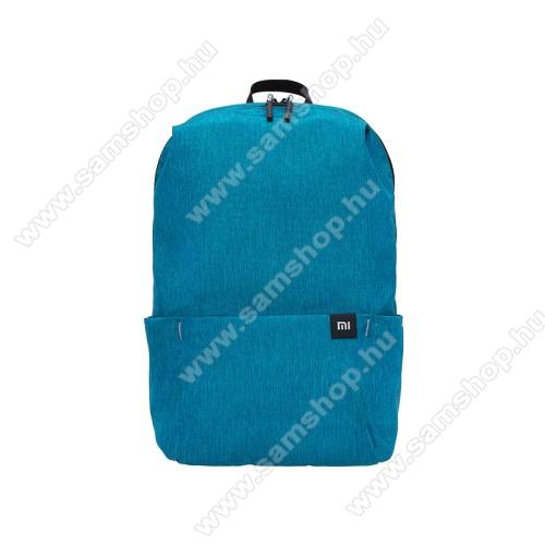 SAMSUNG GT-E1080XIAOMI hátizsák - ultrakönnyű, kopásálló poliészter anyag, vízálló, 10L kapacitás - VILÁGOSKÉK - 340  x 225 x 130mm