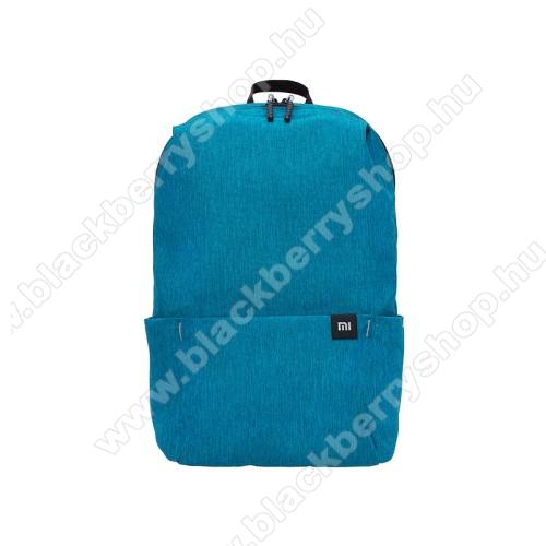BLACKBERRY LeapXIAOMI hátizsák - ultrakönnyű, kopásálló poliészter anyag, vízálló, 10L kapacitás - VILÁGOSKÉK - 340  x 225 x 130mm