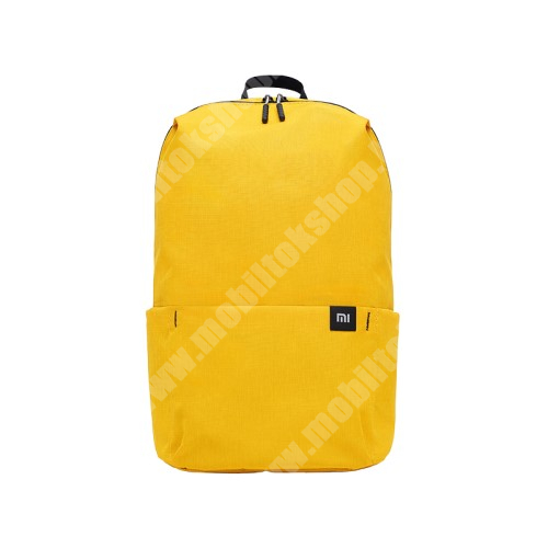 ARCHOS 50 Oxygen XIAOMI hátizsák - ultrakönnyű, kopásálló poliészter anyag, vízálló, 10L kapacitás - SÁRGA - 340  x 225 x 130mm