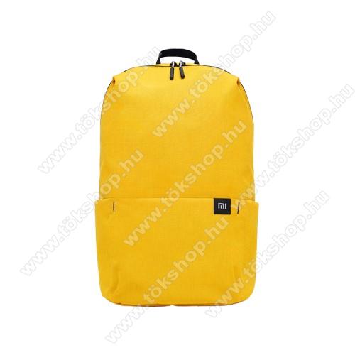 SONYERICSSON R310XIAOMI hátizsák - ultrakönnyű, kopásálló poliészter anyag, vízálló, 10L kapacitás - SÁRGA - 340  x 225 x 130mm