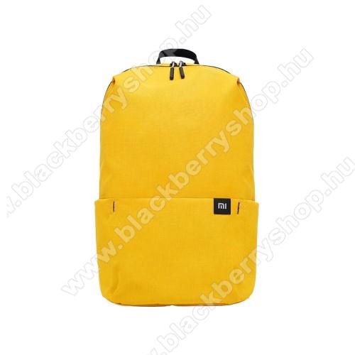 BLACKBERRY LeapXIAOMI hátizsák - ultrakönnyű, kopásálló poliészter anyag, vízálló, 10L kapacitás - SÁRGA - 340  x 225 x 130mm