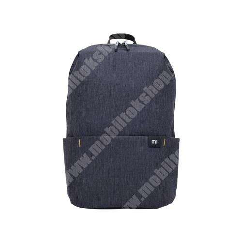 PHILIPS W3568 XIAOMI hátizsák - ultrakönnyű, kopásálló poliészter anyag, vízálló, 10L kapacitás - FEKETE - 340  x 225 x 130mm