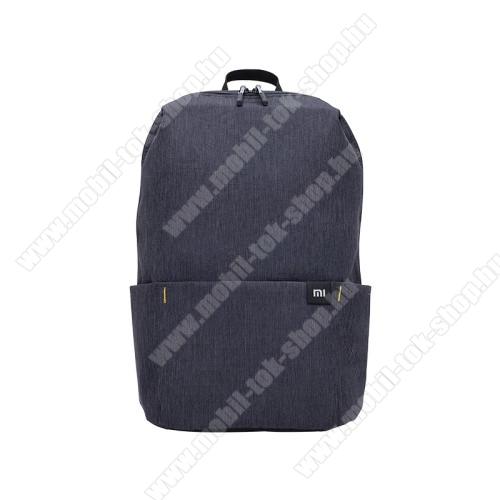 XIAOMI hátizsák - ultrakönnyű, kopásálló poliészter anyag, vízálló, 10L kapacitás - FEKETE - 340  x 225 x 130mm