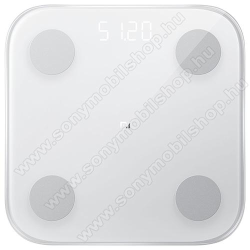 XIAOMI Mi Body Composition Scale 2 okosmérleg (BMI,G-szenzor,Bluetooth 5.0, iOS 7.0-tól és Android 4.3-tól) - FEHÉR - XMTZC05HM - GYÁRI