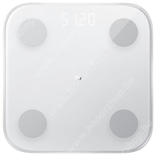 HUAWEI Honor V40 5G XIAOMI Mi Body Composition Scale 2 okosmérleg (BMI,G-szenzor,Bluetooth 5.0, iOS 7.0-tól és Android 4.3-tól) - FEHÉR - XMTZC05HM - GYÁRI