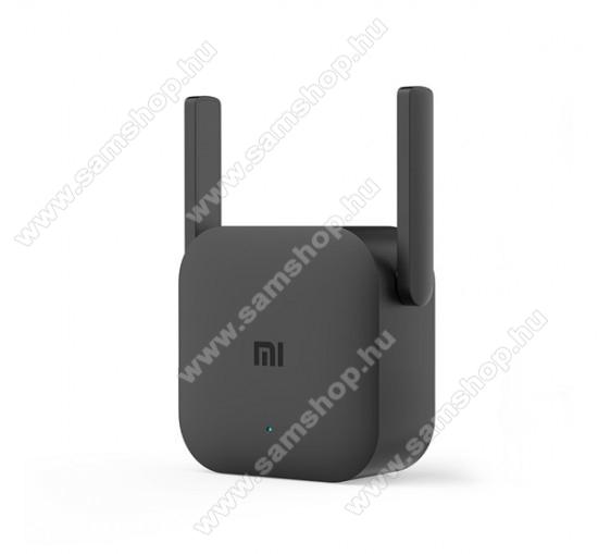 XIAOMI MI EXTENDER PRO vezeték nélküli, hordozható WiFi jelerősítő (300Mbps, 16 felhasználó, 2 antenna) - FEKETE - DVB4235GL - GYÁRI