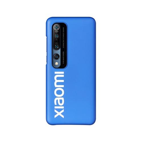XIAOMI műanyag védő tok / hátlap - KÉK - Xiaomi Mi 10 5G / Xiaomi Mi 10 Pro 5G - GYÁRI