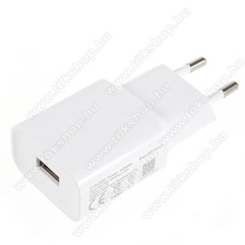 XIAOMI OEM hálózati töltő - 1 x USB aljzat, 5.0V / 2A - FEHÉR - MDY-08-EO - GYÁRI