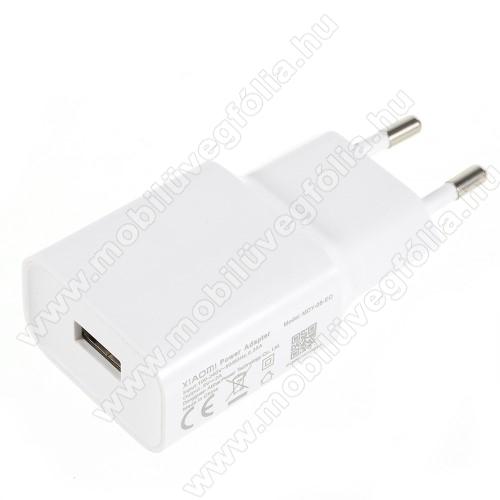 ALCATEL Smart Tab 7XIAOMI OEM hálózati töltő - 1 x USB aljzat, 5.0V / 2A - FEHÉR - MDY-08-EO - GYÁRI