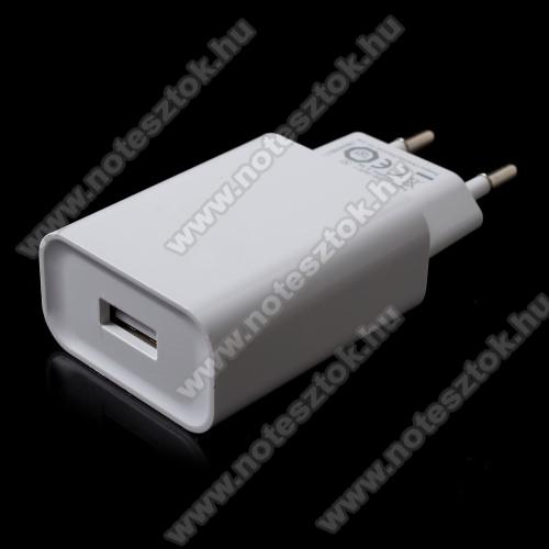 NOKIA 7.1XIAOMI OEM hálózati töltő - 1 x USB aljzat, Quick Charge 3.0 gyors töltés támogatás, 5V/3A; 9V/2A, 12V/1.5A - FEHÉR - MDY-08-DF - GYÁRI