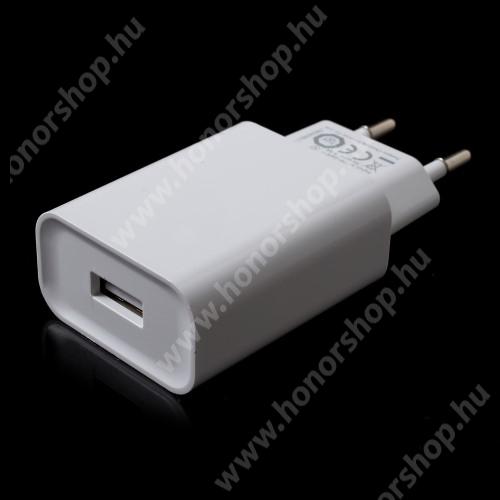 XIAOMI OEM hálózati töltő - 1 x USB aljzat, gyors töltés támogatás, 5V/2A  - FEHÉR - MDY-08-DF - GYÁRI