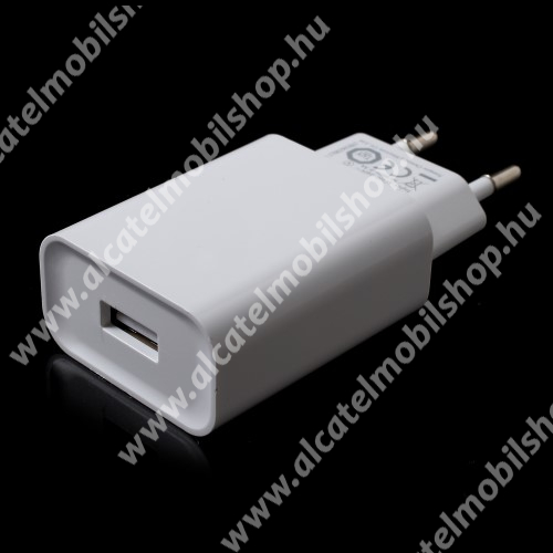 ALCATEL A5 LED XIAOMI OEM hálózati töltő - 1 x USB aljzat, Quick Charge 3.0 gyors töltés támogatás, 5V/3A; 9V/2A, 12V/1.5A - FEHÉR - MDY-08-DF - GYÁRI
